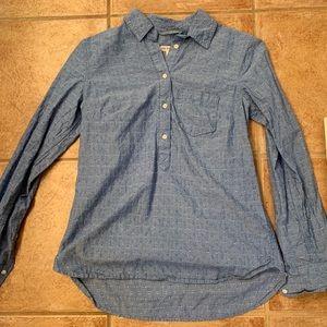 Light blue half sleeve